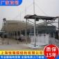 上海膜结构车棚厂家 加工制作汽车泊车蓬 安装搭建户外轿车泊车棚