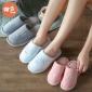 冬季室内居家拖日式儿童棉鞋2018卡通亲子棉拖鞋情侣冬季棉鞋防滑